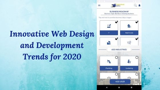 Innovative Web Design and Development Trends for 2020